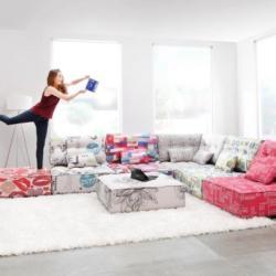 Andreotti Furniture - Contemporary Corner Sofa Arianne