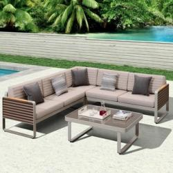 Seccom Furniture - Garden Furniture Higold Corner Sofa