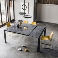 Seccom Furniture Marcopolo Extendable Dining Table Apelle Chairs